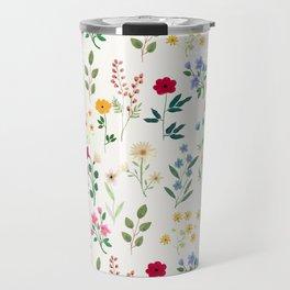 Spring Botanicals Travel Mug