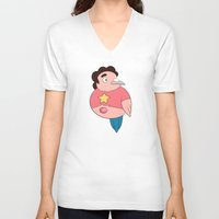 steven universe V-neck T-shirts featuring Steven Universe: Steven by Birbles