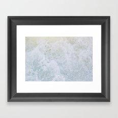 Acqua Nebulae 2 Framed Art Print