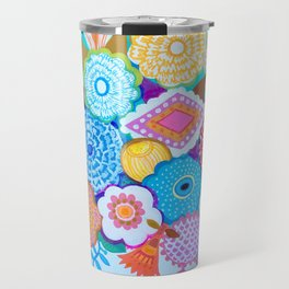 Brazilian bouquet Travel Mug