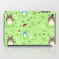 ghibli iPad Cases featuring Ghibli pattern by Sophie Eves