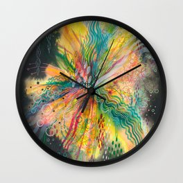 when your heart explodes Wall Clock