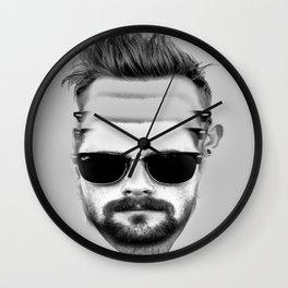 Triple Beard Wall Clock