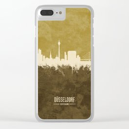 Düsseldorf Germany Skyline Clear iPhone Case