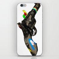 hippy iPhone & iPod Skins featuring HIPPY GUN by kasi minami