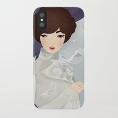 The Wings of the Dove: Violet iPhone X Slim Case
