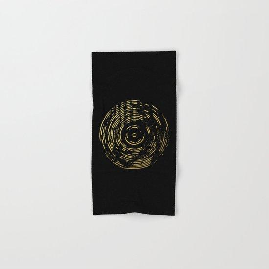 Gold Disc Hand & Bath Towel