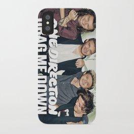 1D Drag me down iPhone Case