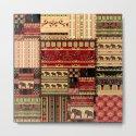 African motifs . Patchwork by fuzzyfox85
