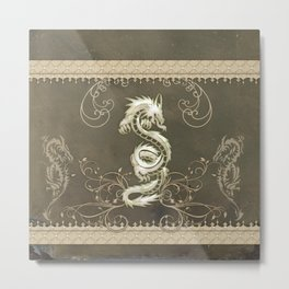 Beautiful chinese dragon Metal Print