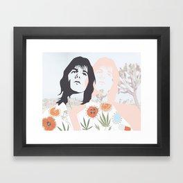 GRIEVOUS ANGEL: GRAM PARSONS Framed Art Print