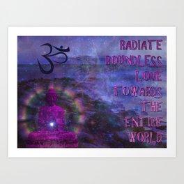 Boundless Buddha Art Print