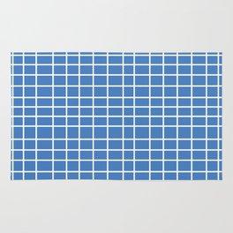 Squares of Blue Rug