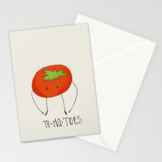 To-ma-toes Stationery Cards