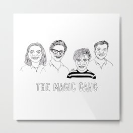 The Magic Gang Metal Print