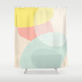 Lost In Shapes III #society6 #abstract Shower Curtain