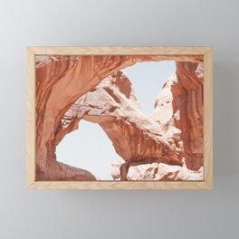Desert Arches Framed Mini Art Print