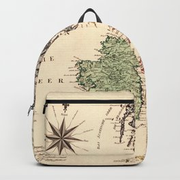 Map Of Great Britain 1795 Backpack