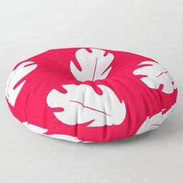 Lilo Hawaiian Floral Leaves Floor Pillow