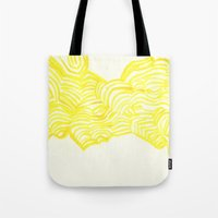 honeycomb Tote Bags featuring Honeycomb by Mandi  Gilmore
