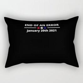 End Of An Error 2021 January 20th 2021 Rectangular Pillow