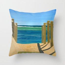Beautiful Ocean Throw Pillow