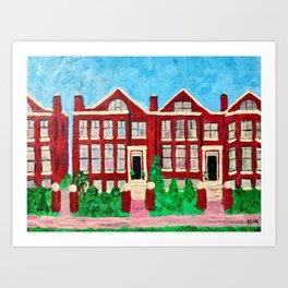 Sweet Home Chicago Art Print