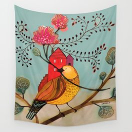 partout chez moi Wall Tapestry