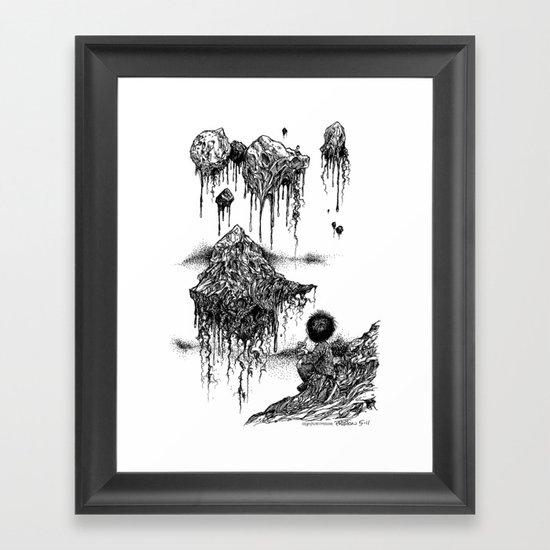 Floaters Framed Art Print
