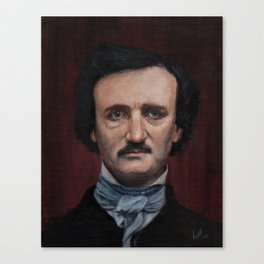 Edgar Allen Poe Canvas Print