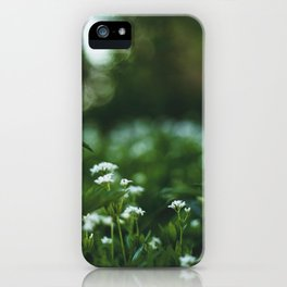 Flower photography by stephan cassara iPhone Case