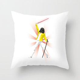 Freddie Vader Throw Pillow