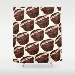 Cupcake Pattern Shower Curtain