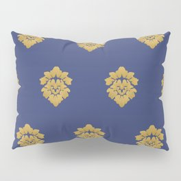 Free Marches (Blue) Pillow Sham