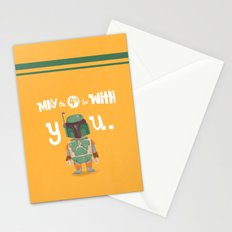 Boba Fett holiday  Stationery Cards