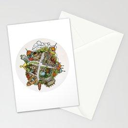Tiny Planet Stationery Cards