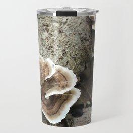 Brackets on a Log Travel Mug