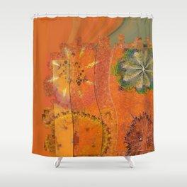 Zymase Harmony Flower  ID:16165-100704-37371 Shower Curtain