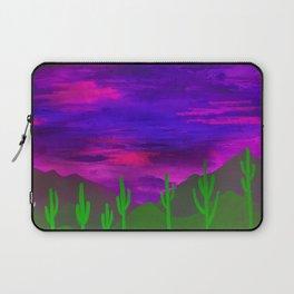 Saguaros Illuminated Laptop Sleeve