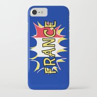 france iPhone & iPod Cases featuring France by mailboxdisco