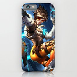 tracer over iPhone Case