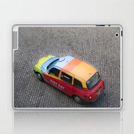 Scottish rainbow taxi Edinburgh Scotland Laptop & iPad Skin