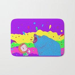 Flippin the bear Bath Mat