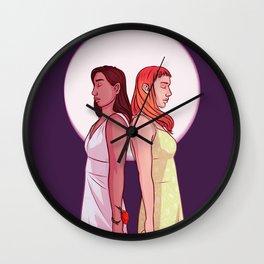Miel and Ivy Wall Clock