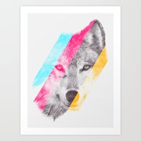 eric fan Art Prints featuring Wild 2 by Eric Fan & Garima Dhawan by Garima Dhawan