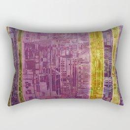 Blocks / Urban Rectangular Pillow