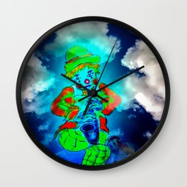 Funny World - Clown Wall Clock