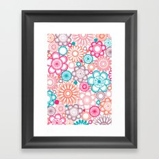 BOLD & BEAUTIFUL springtime Framed Art Print