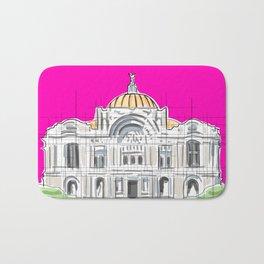 Bellas Artes architectural city ecopop Bath Mat