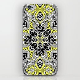 Boho Sunshine Medallion Pattern iPhone Skin